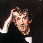 Giovanni Boldini - James Whistler, detail