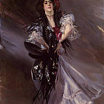 Giovanni Boldini - Boldini Giovanni Portrait of Anita de la Ferie -The Spanish Dancer-