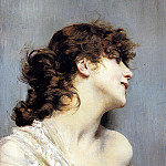 Profile of a Young Woman, Giovanni Boldini