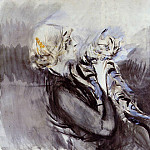 A Lady with a Cat, Giovanni Boldini