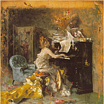 The Recital, Giovanni Boldini