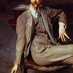 Giovanni Boldini - Portrait of the Artist Lawrence Alexander Peter Brown