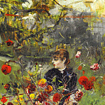 The Summer Roses, Giovanni Boldini