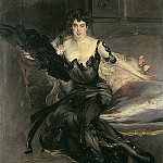 Portrait of a Lady Mrs Lionel Phillips 1903, Giovanni Boldini
