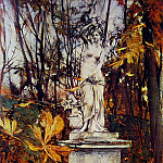 Statue in the Park of Versailles, Giovanni Boldini
