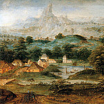 Herri Met De Bles - Landscape with the expulsion of Hagar
