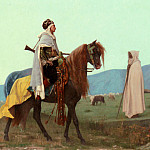 Gustave Clarence Rodolphe Boulanger - An Arab Horseman
