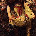 Gustave Clarence Rodolphe Boulanger - The Flower Girl