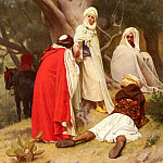 Gustave Clarence Rodolphe Boulanger - Reception Of An Emir