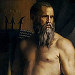 Carlo Bellosio - Portrait of Andrea Doria as Neptune