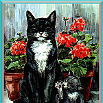 Мардж Опитц Буридж - Ds-Cats Art 02 Marge Opitz Buridge