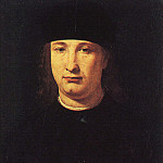 Giovanni Antonio Boltraffio - The Poet Casio 1490 1500