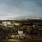 Guido Cagnacci - View of Villa Cagnola at Gazzada