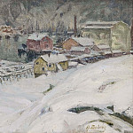 Anna Katarina Boberg - Overcast Weather. Study from North Norway