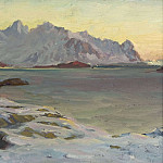 Anna Katarina Boberg - Mountains. Study from North Norway
