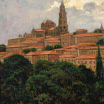 James Carroll Beckwith - Cathedral at le Puy
