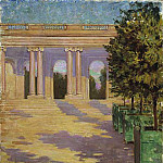 James Carroll Beckwith - Arcade of the Grand Trianon Versailles
