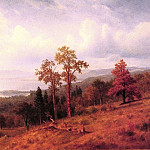 Albert Bierstadt - View of the Hudson