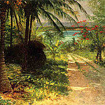 Albert Bierstadt - Tropical Landscape