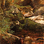 Albert Bierstadt - Forest Stream