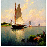 Alfred Thompson Bricher - Blue Point- Long Island
