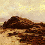Alfred Thompson Bricher - Low Tide Baileys Island Maine