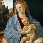 Andrea Sacchi - Madonna and Child