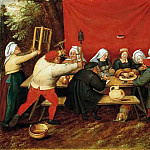 Pieter Brueghel the Younger - Wedding Gifts