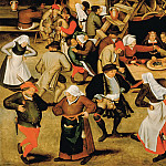 Pieter Brueghel the Younger - Wedding in barn