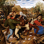 Pieter Brueghel the Younger - Fight Gamblers