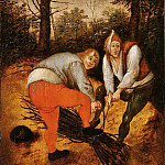 Pieter Brueghel the Younger - Firewood Collectors