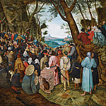Pieter Brueghel the Younger - The Preaching of St John the Baptist