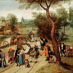 Pieter Brueghel the Younger - Returning from holiday
