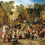 Pieter Brueghel the Younger - Whitsunday bride