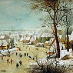 Pieter Brueghel the Younger - Winter Landscape