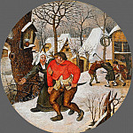 Pieter Brueghel the Younger - fight farmers