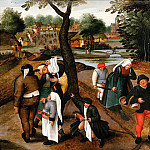 Pieter Brueghel the Younger - Returning from Kermesse