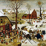 Pieter Brueghel the Younger - The Census at Bethlehem