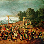 Pieter Brueghel the Younger - Calvary (Thought to be a free copy of a lost picture by the artist s father, Pieter Brueghel I)