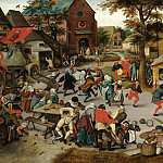 Pieter Brueghel the Younger - The Kermesse of Saint George