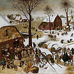 Pieter Brueghel the Younger - The census in Bethlehem