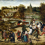 Pieter Brueghel the Younger - Back pilgrimage