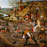 Pieter Brueghel the Younger - Spring