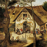 Pieter Brueghel the Younger - The Inn St. Michel