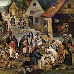 Pieter Brueghel the Younger - Works of mercy