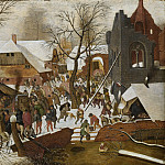 Pieter Brueghel the Younger - Adoration of the Magi