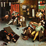 Pieter Brueghel the Younger - Operating the Fools Stone