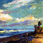Albert Ernest Backus - gentle breezes csg048 bayonets on the beach