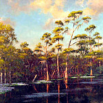 Albert Ernest Backus - gentle breezes reedy creek
