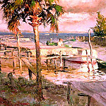 Albert Ernest Backus - gentle breezes working on moores creek